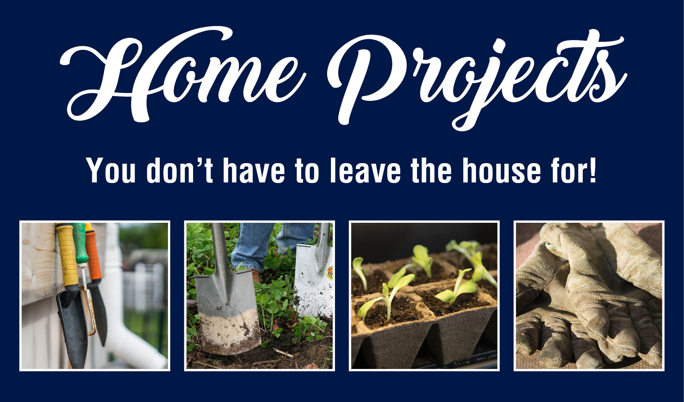 Home Projects You Don't Have to Leave the House For.